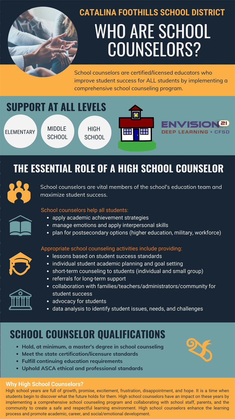The Essential Role of High School Counselors